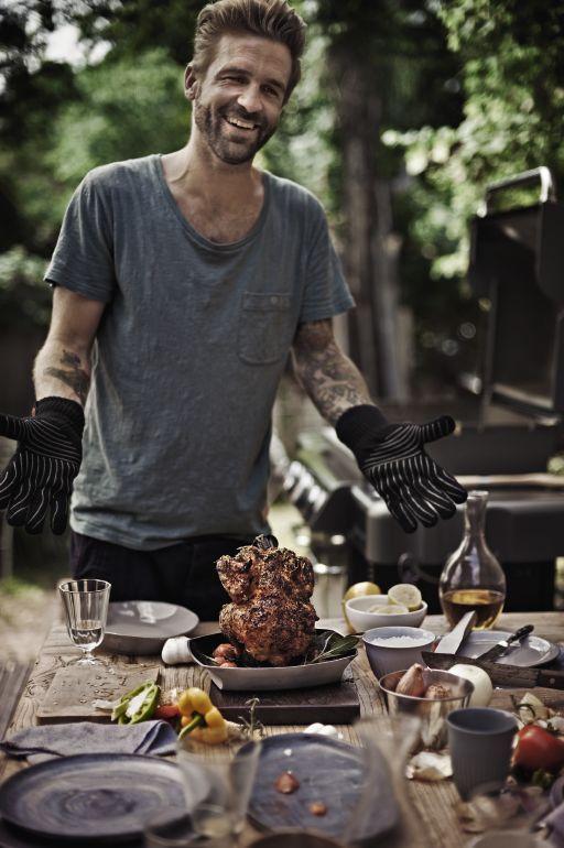 Kurczak pieczony na piwie grill360