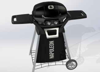 Napoleon PRO285 – grill gazowy z wózkiem