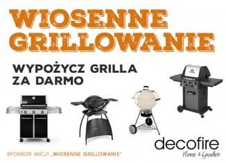 Wiosenne Grillowanie – Wypożycz grilla za darmo