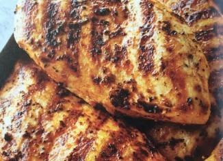 Grillowana Pierś z Kurczaka z Cytryną i Oregano