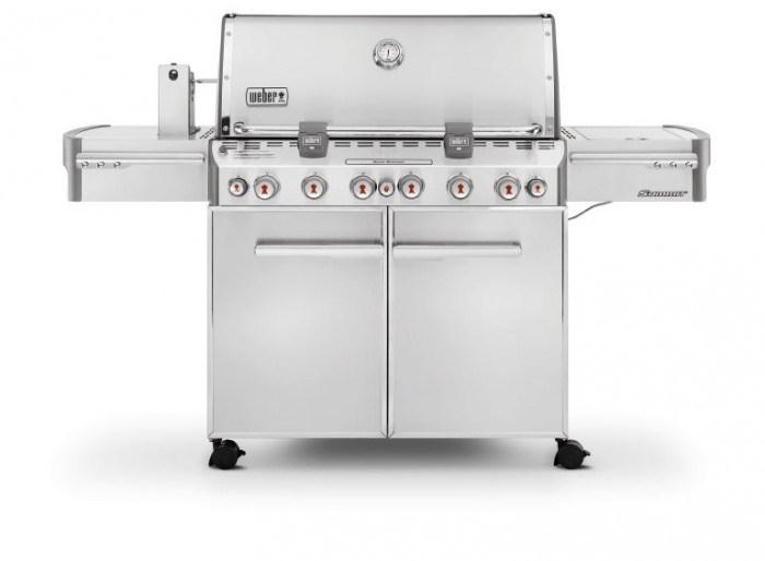 Model Summit S-670 GBS marki Weber – wielofunkcyjna kuchnia w plenerze