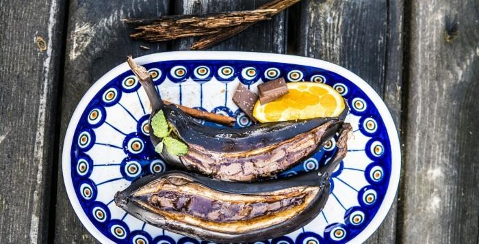 Grillowane banany z czekoladą – Przepisy Grill360