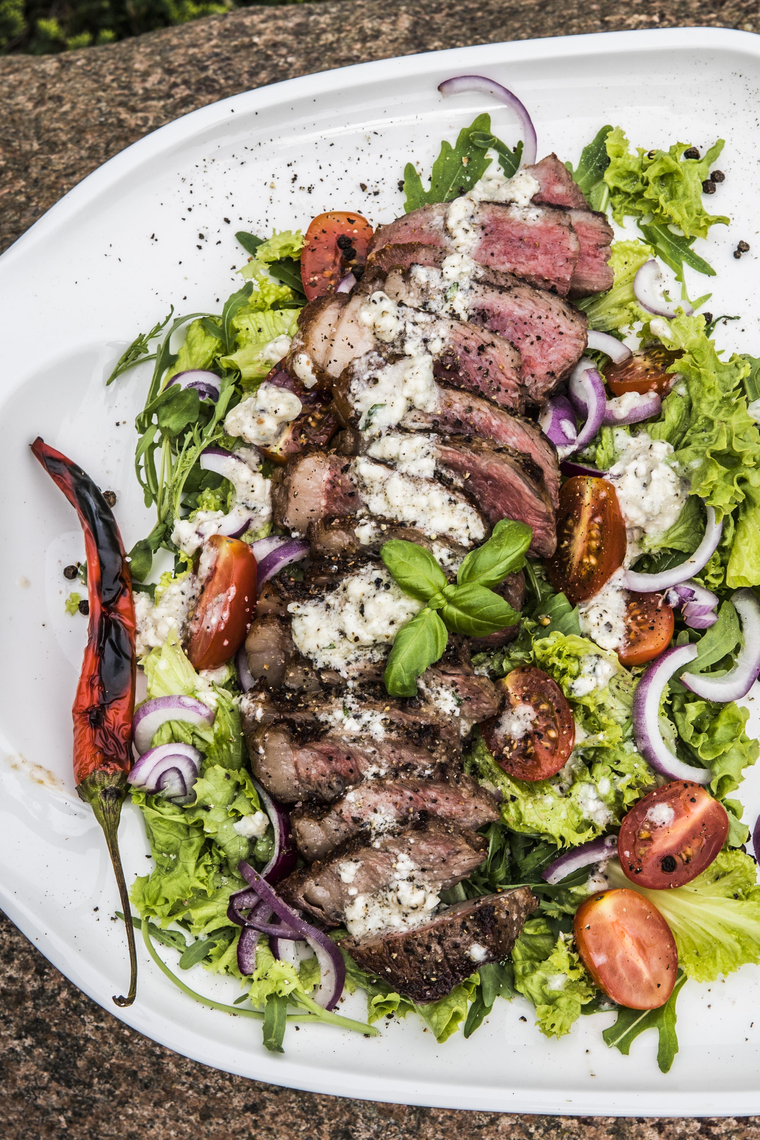 Stek New York Michał Dobosz Grill360