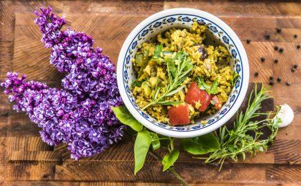 Tajskie curry warzywne z grilla