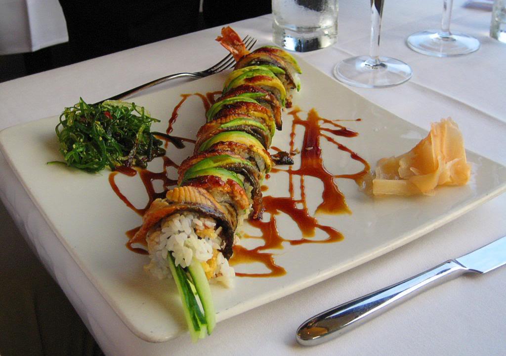Sushi z grilla
