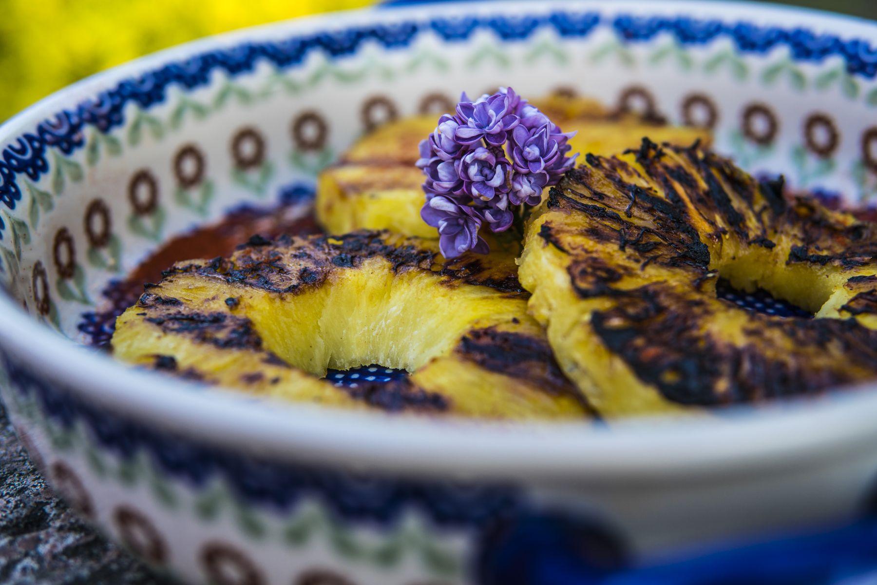 Grillowane Ananasy