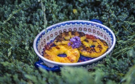 Grillowane Ananasy – pyszny deser z grilla
