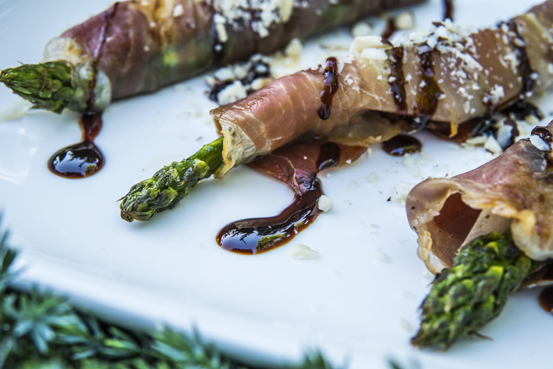 Grillowane szparagi Michała Dobosza