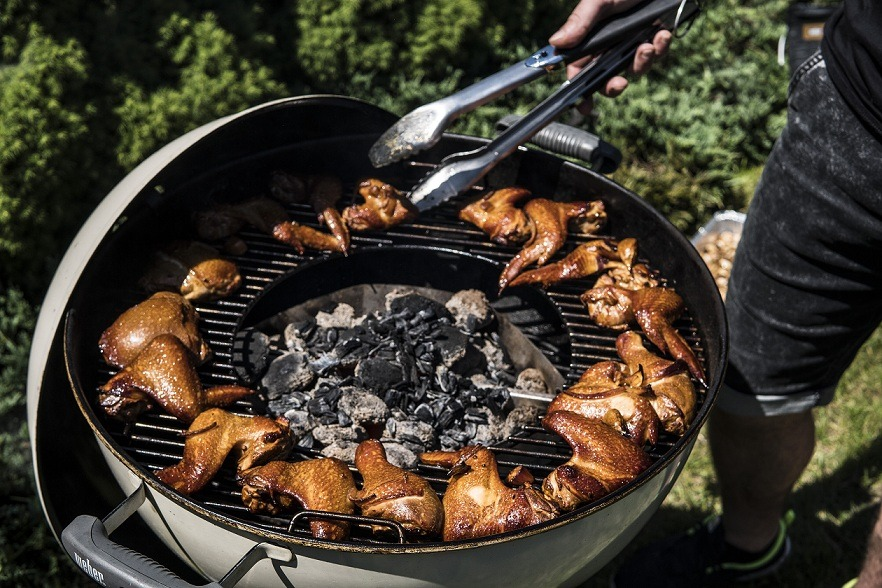 Marynowane ipodwędzane skrzydełka BBQ