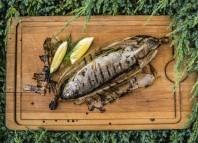 Grillowanie ryb – PSTRĄG Z GRILLA