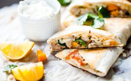 Quesadillas z kurczaka – Przepisy na dania z grilla Weber