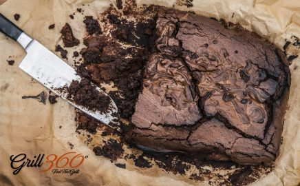Ciasto czekoladowe – przepis na deser z grilla