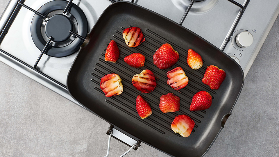 grillowane truskawki