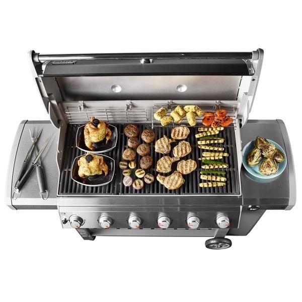 grill gazowy , polka boczna , grill360 , dodatkowy palnik , ruszt