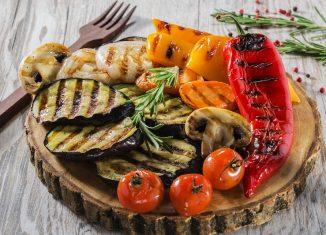 Warzywa nagrillu: czas imetody grillowania