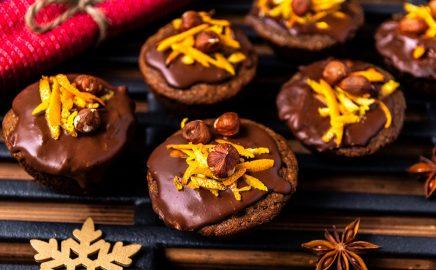 Świąteczne muffinki z grilla z korzenną nutą