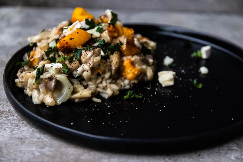 risotto z grilla