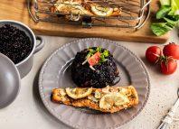Łosoś z grilla z czarnym ryżem [PRZEPIS LALA COMPANY]