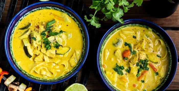 Zupa tajska z grilla [PRZEPIS LALA COMPANY]