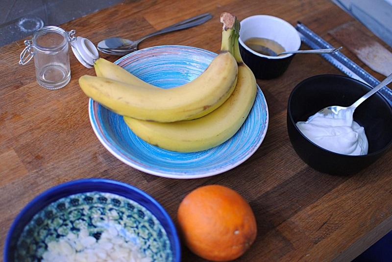 grillowane banany
