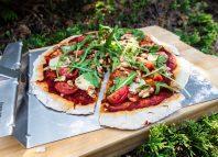 Pizza wegetariańska z grilla [PRZEPIS LALA COMPANY]
