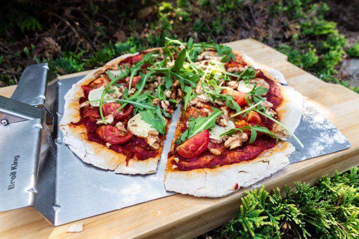 Pizza wegetariańska zgrilla [PRZEPIS LALA COMPANY]