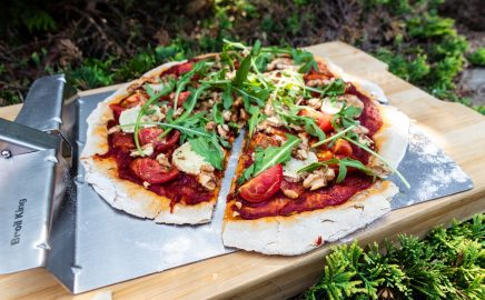 Pizza wegetariańska z grilla