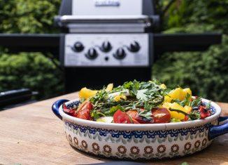 Sałatka z grillowanych warzyw [PRZEPIS]