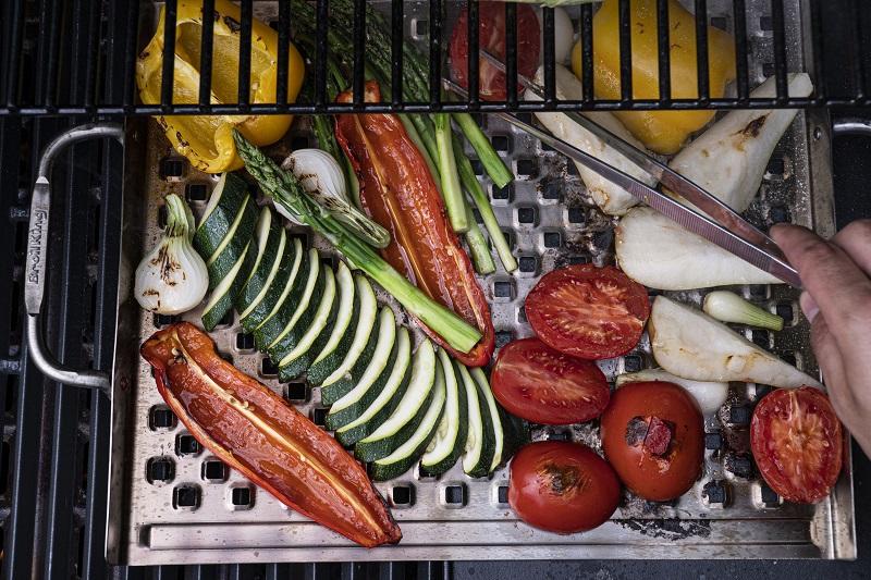 sałatka zgrillowanych warzyw