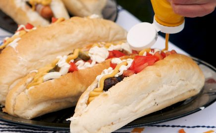 Hot dog z grilla – Sonoran Hot Dog