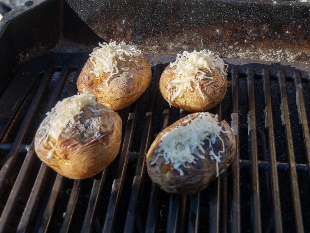 Ziemniaki na grillu elektrycznym