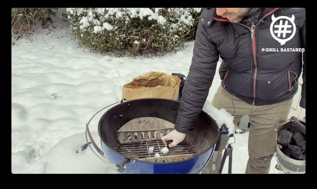 Grillowanie zimą