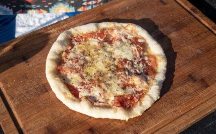 Pizza z grilla elektrycznego