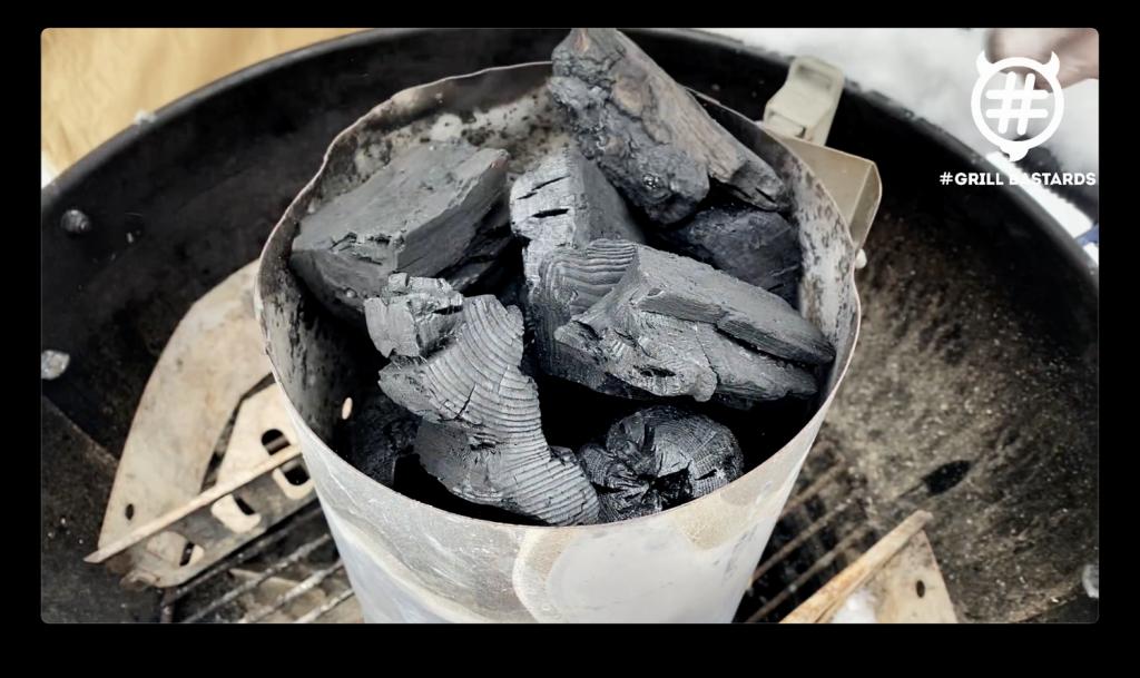 Węgiel do grillowania w zimie