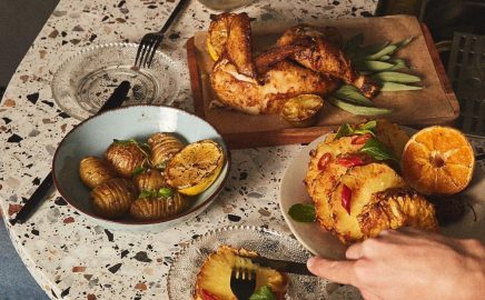 Stek z ananasa z grilla