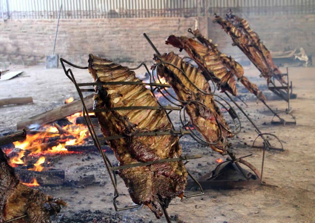 Grillowanie asado w Argentynie