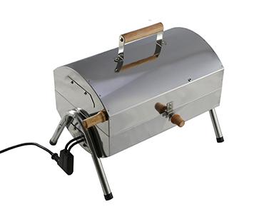 Elektryczny grill z wędzarnią