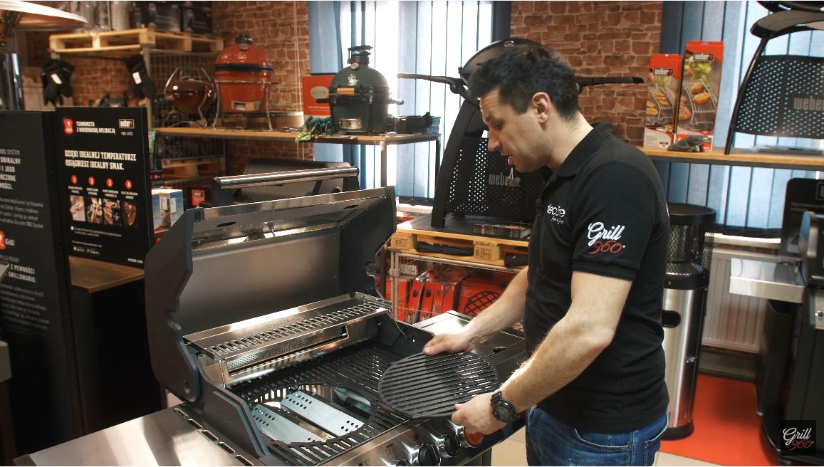 Grill gazowy Enders Monroe Pro 3 Sik Turbo ruszt żeliwny