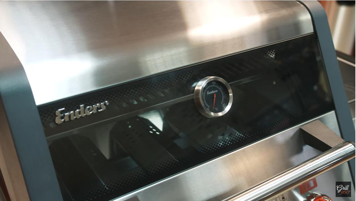 Przezroczysta obudowa w grillu enders monroe pro 3 sik turbo